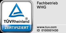 Seit 1998 sind wir TÜV zugelassener Fachbetrieb nach WHG